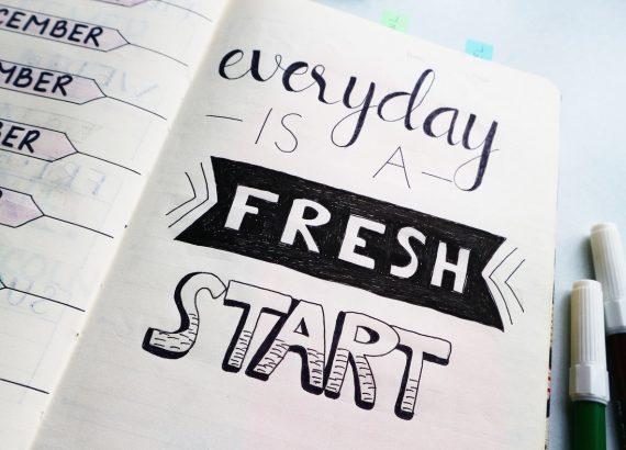 Fiecare zi este un nou început